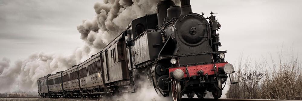 Fototapeter med tåg