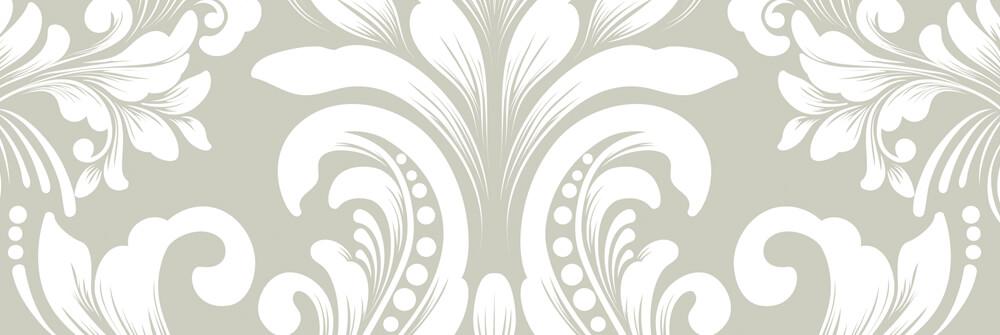 Barocktapet med ett mönster