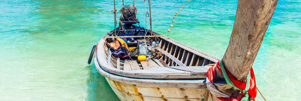Fototapeter med båtar och vattensporter