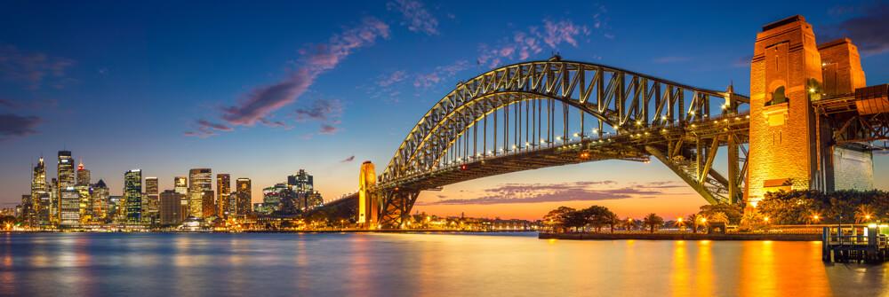 Fototapet med broar