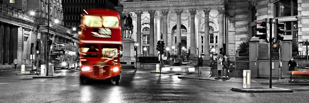 Fototapet med bussar