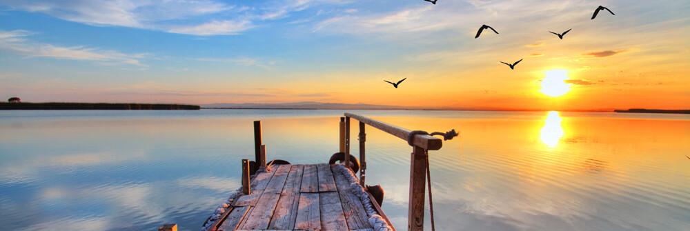 Fototapet av sjöar