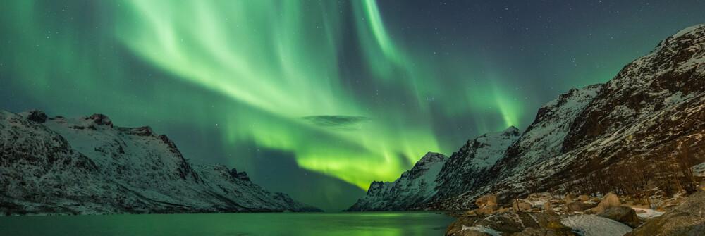 Fototapet med Norrsken