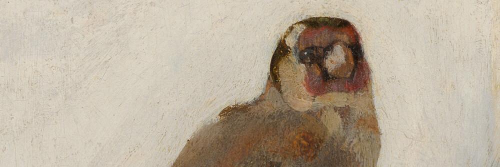 Tapet med gamla målningar av gamla mästare