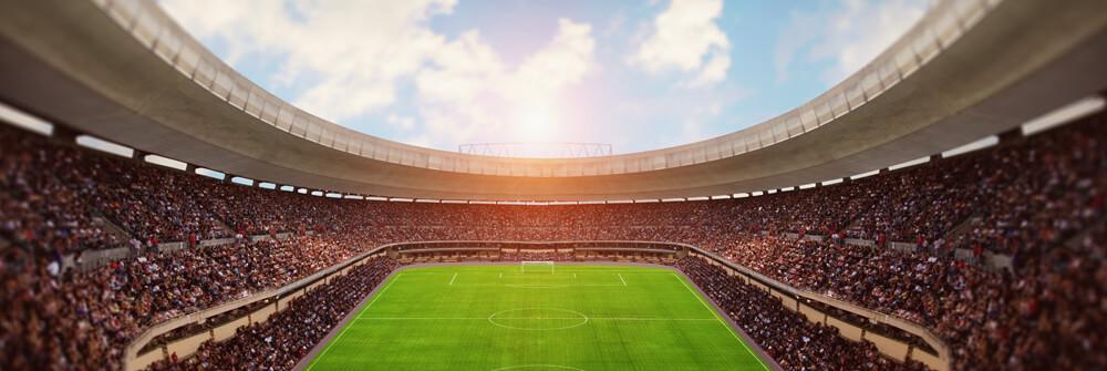 Stadion på tapet