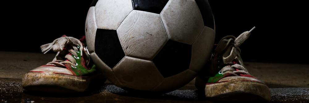 Fotbollsfototapet