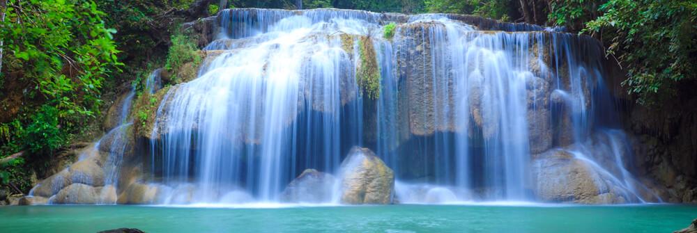 Foto tapet med ett vattenfall