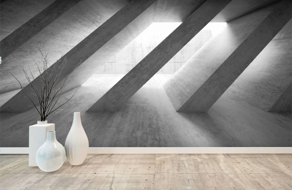 Övriga texttimmar betongpelare i 3D 1