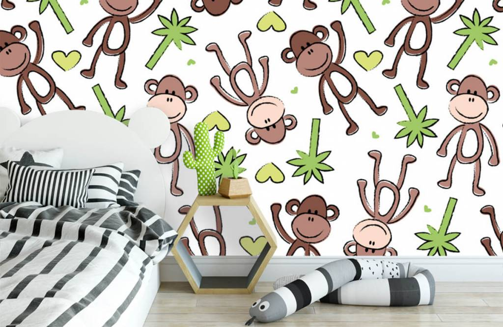 Havsdjur Apor och palmer 3
