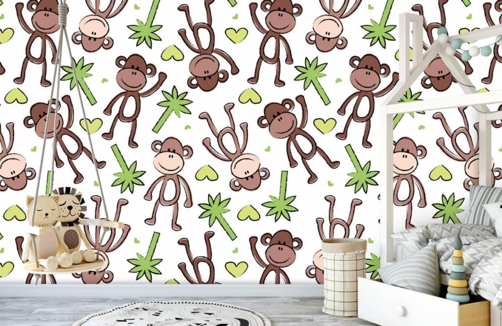 Havsdjur Apor och palmer 4