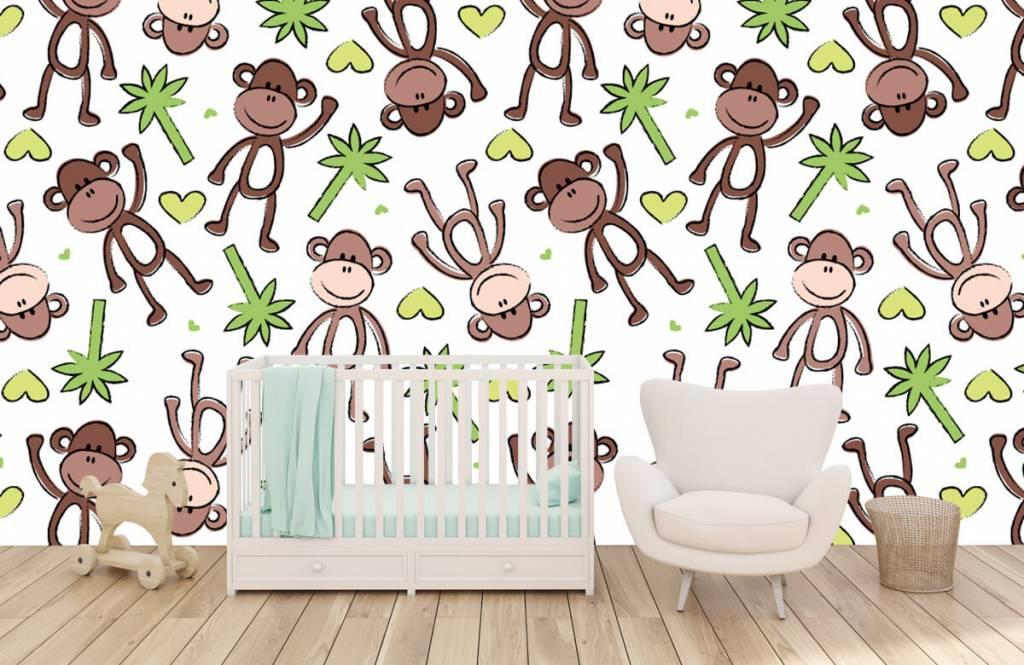 Havsdjur Apor och palmer 6