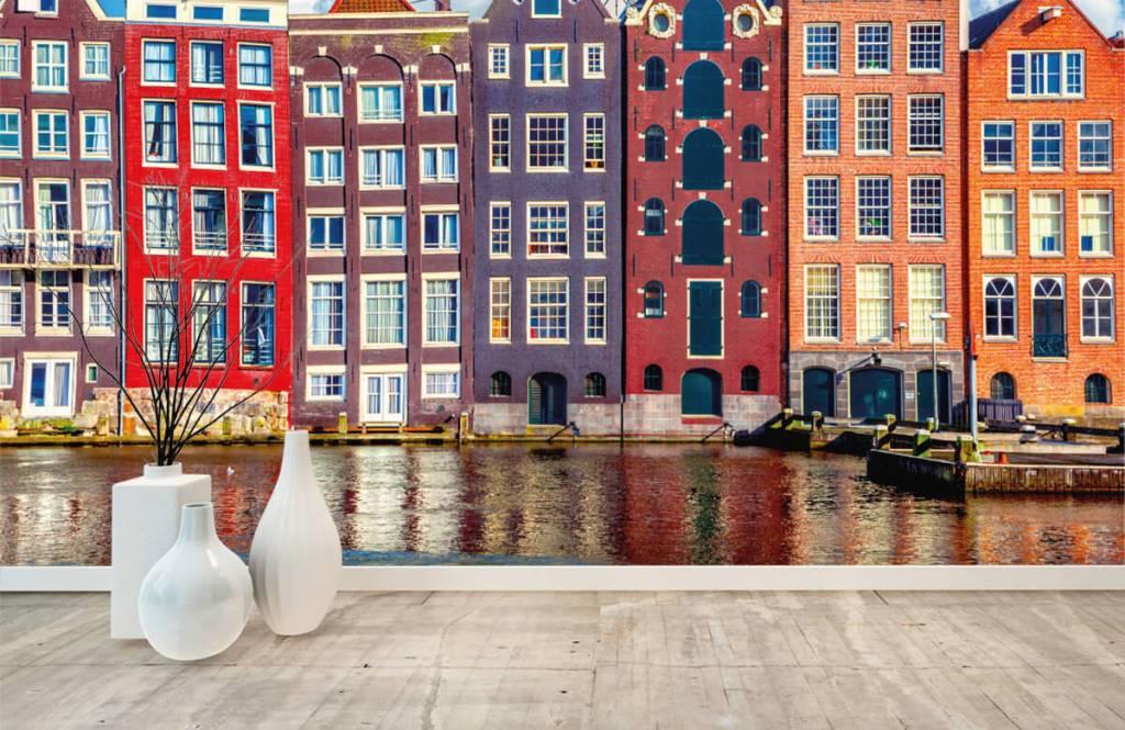 Städer tapet Amsterdam hus 1