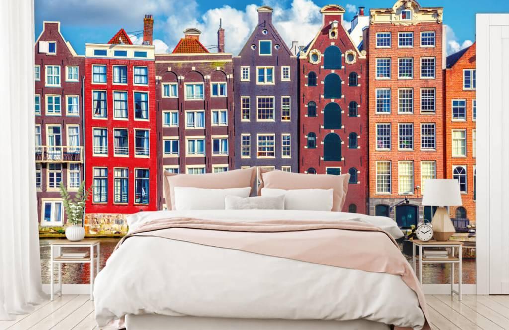 Städer tapet Amsterdam hus 2