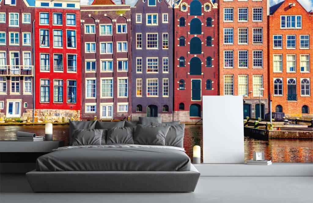 Städer tapet Amsterdam hus 3