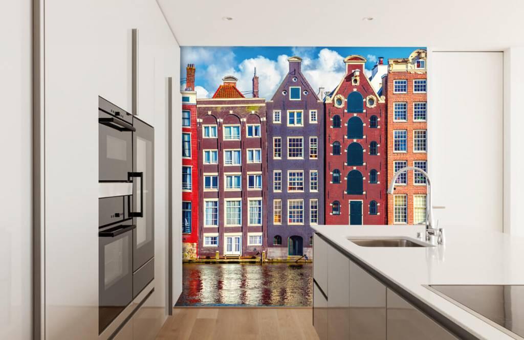 Städer tapet Amsterdam hus 4