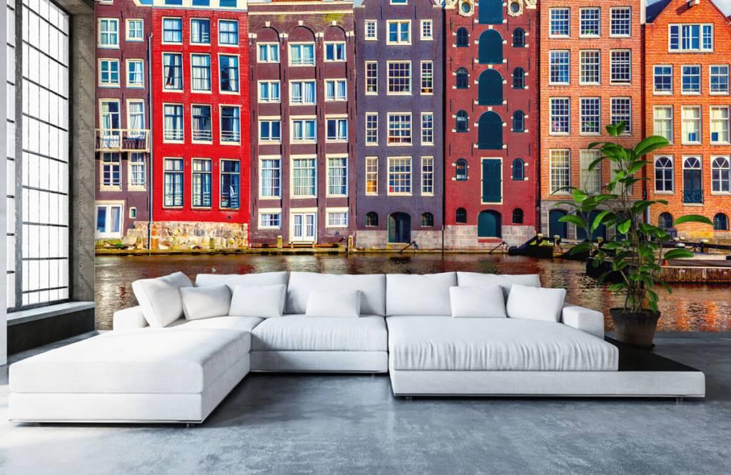 Städer tapet Amsterdam hus 6