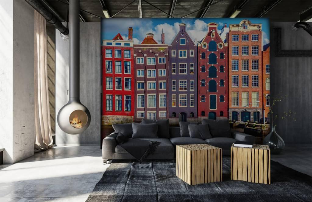 Städer tapet Amsterdam hus 7