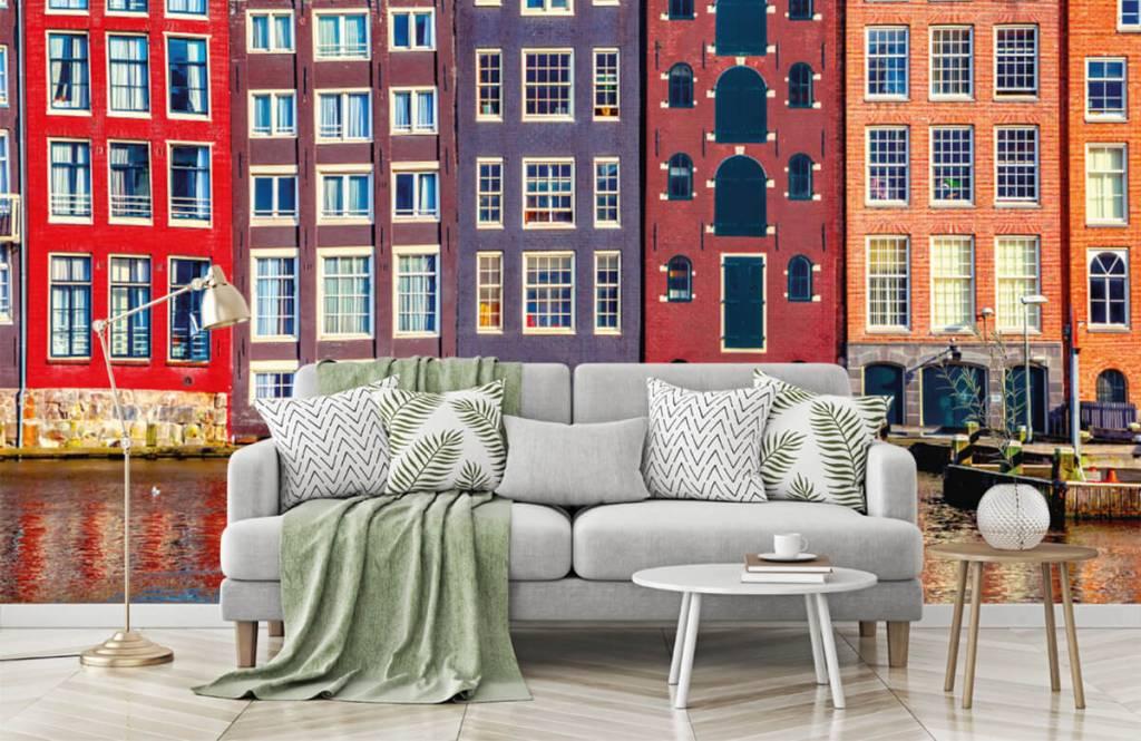 Städer tapet Amsterdam hus 8