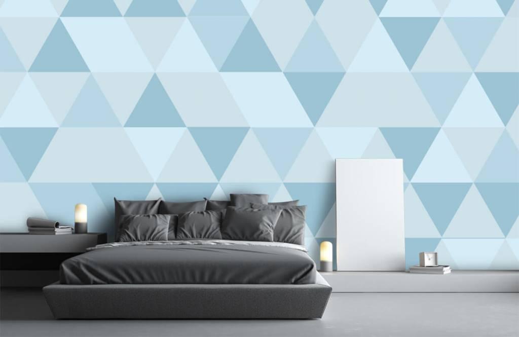 Övriga Blå trianglar 2