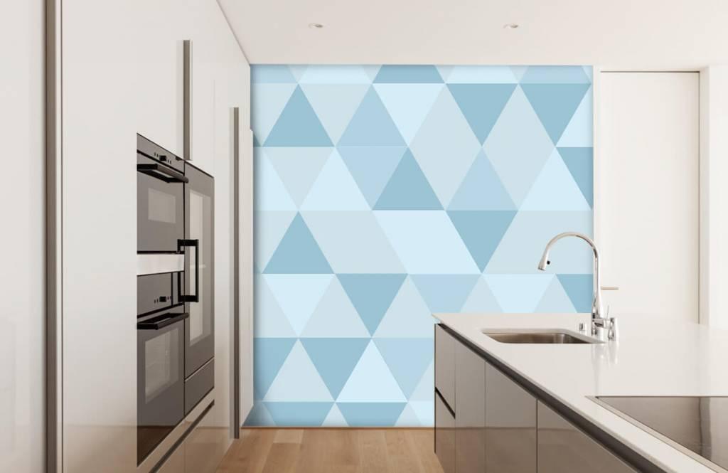 Övriga Blå trianglar 3