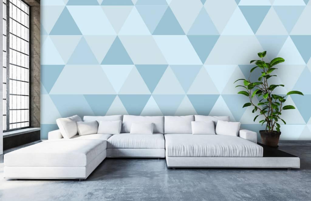 Övriga Blå trianglar 5