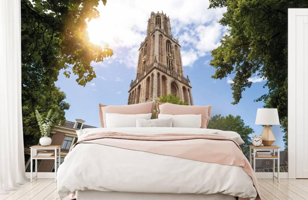 Städer tapet Dom tower i Utrecht 2