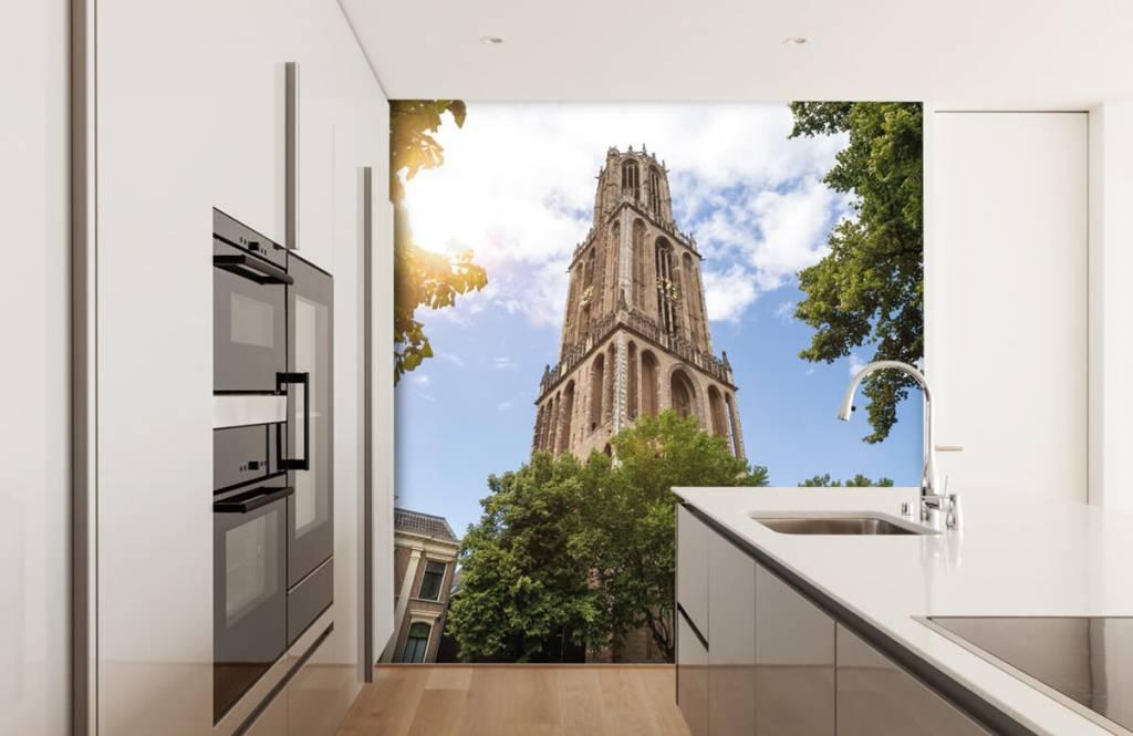 Städer tapet Dom tower i Utrecht 4