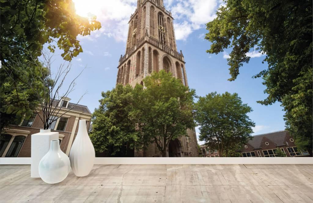 Städer tapet Dom tower i Utrecht 8