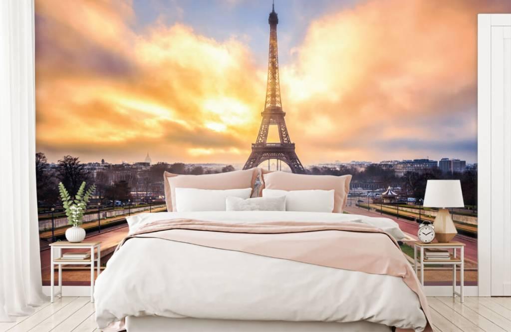 Städer tapet Eiffeltornet 2