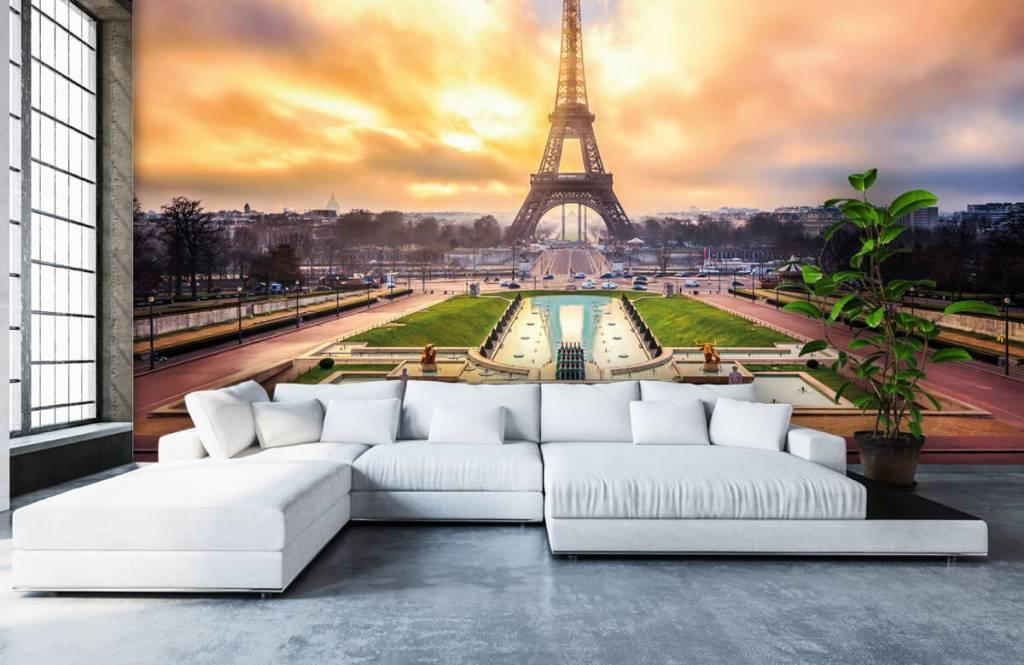 Städer tapet Eiffeltornet 6
