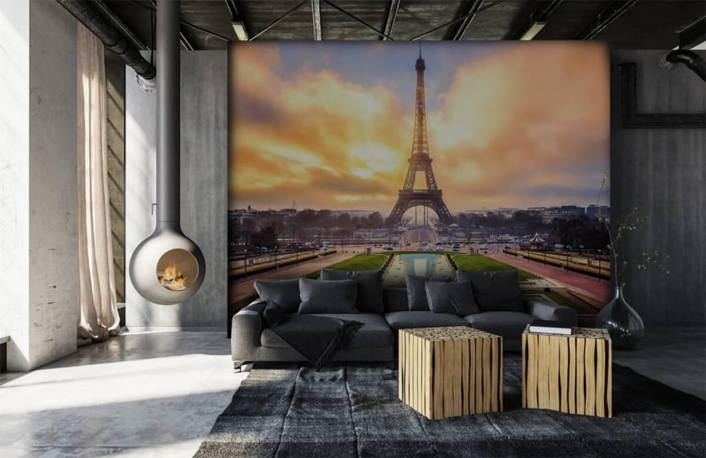 Städer tapet Eiffeltornet 7