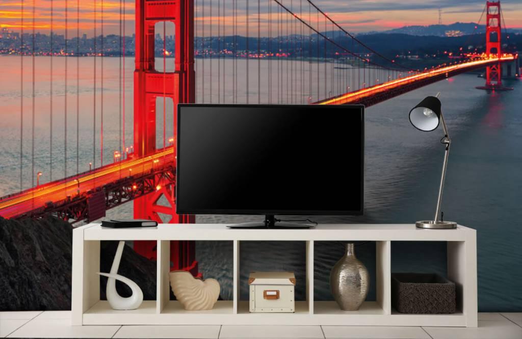 Städer tapet Golden Gate-bron 5