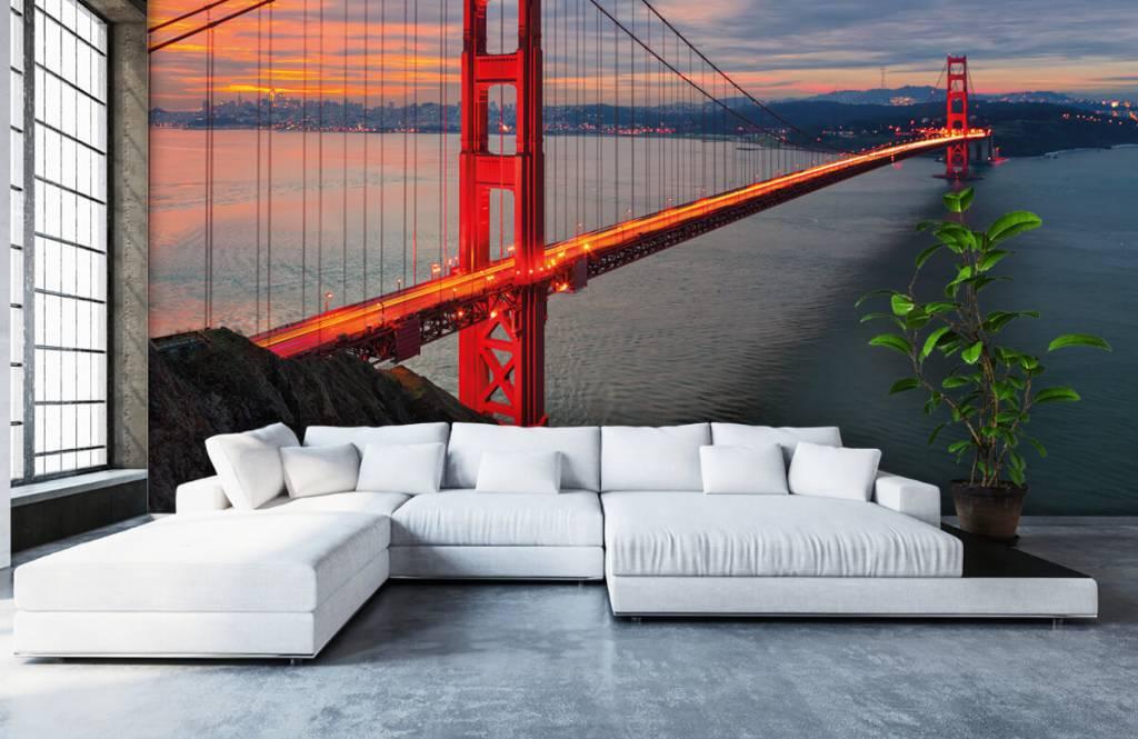 Städer tapet Golden Gate-bron 6