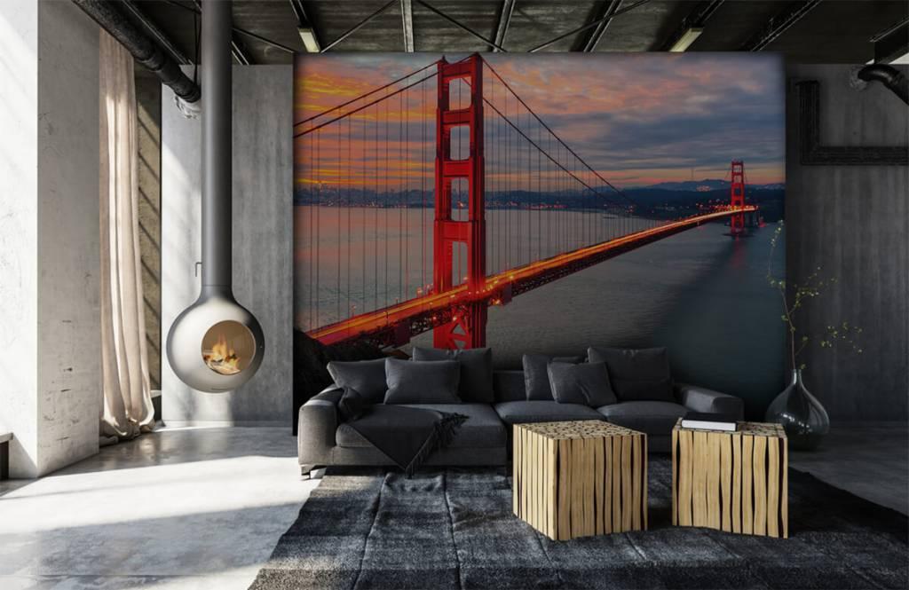 Städer tapet Golden Gate-bron 7