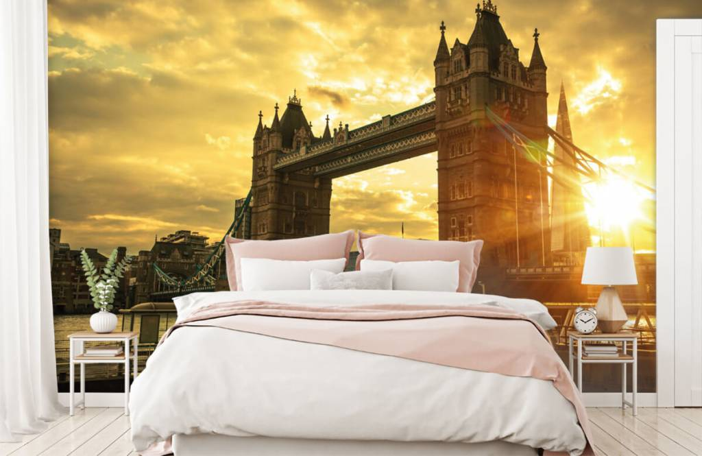 Städer tapet London Tower bridge 2