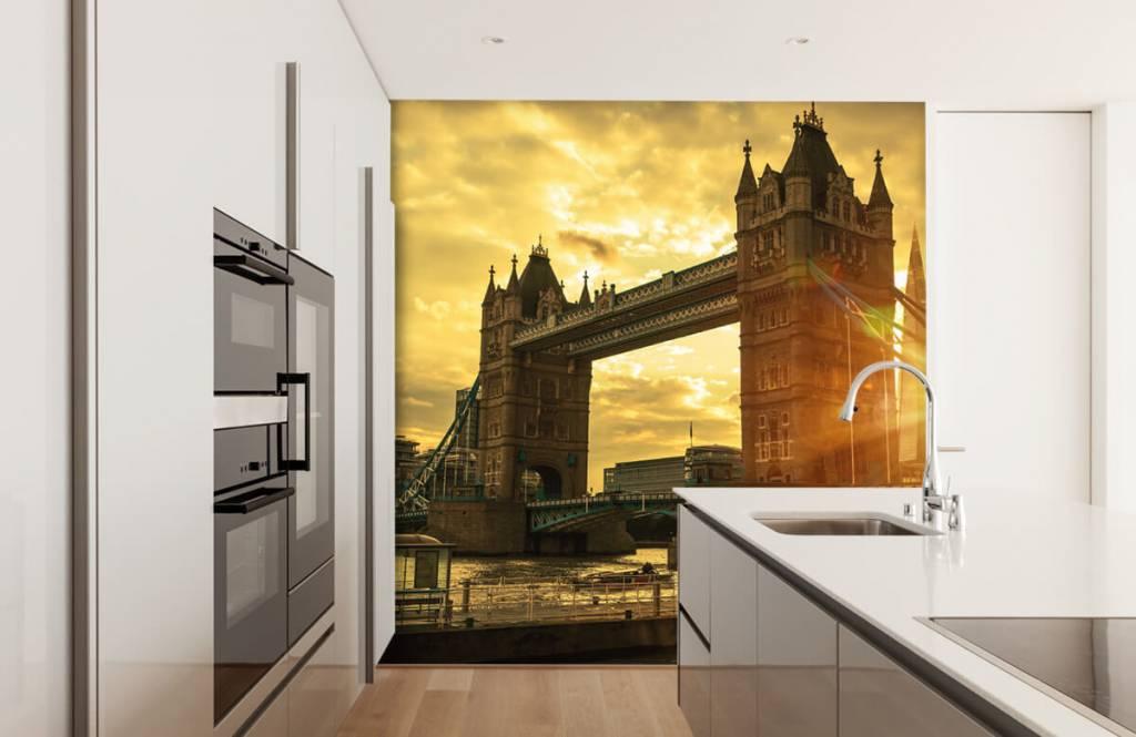 Städer tapet London Tower bridge 4