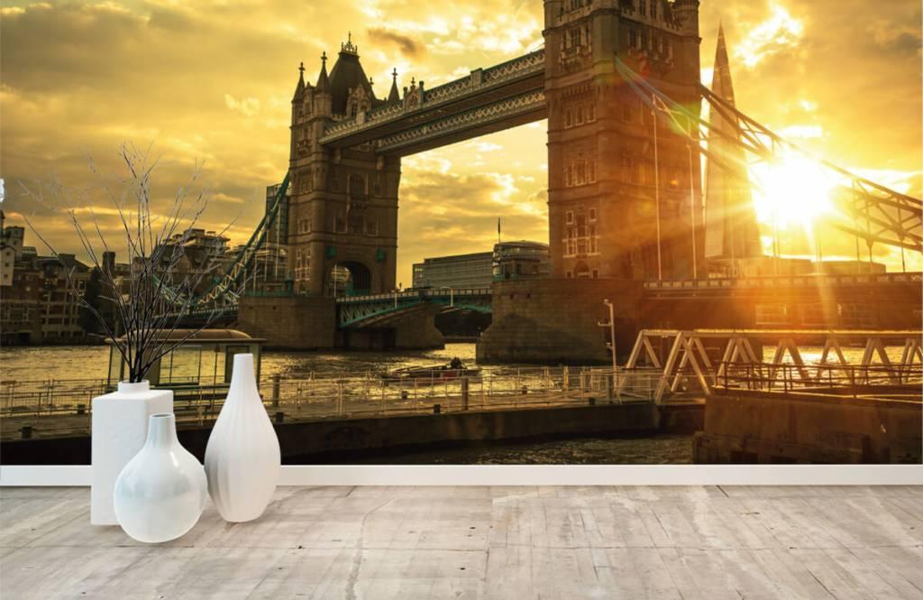 Städer tapet London Tower bridge 8