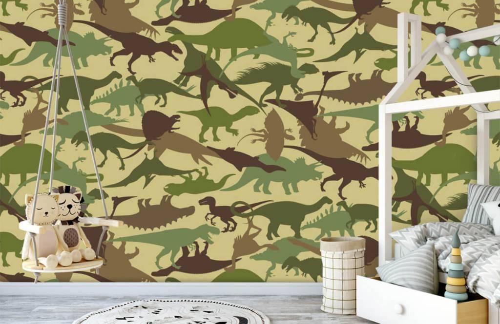Dinosaurier Dino kamouflage 1