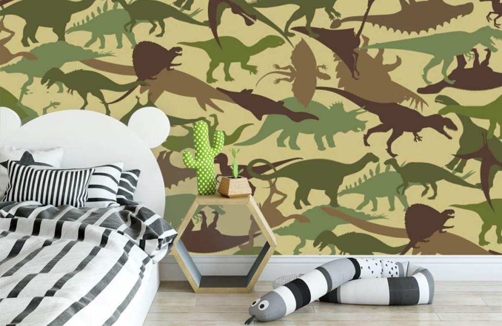 Dinosaurier Dino kamouflage 3