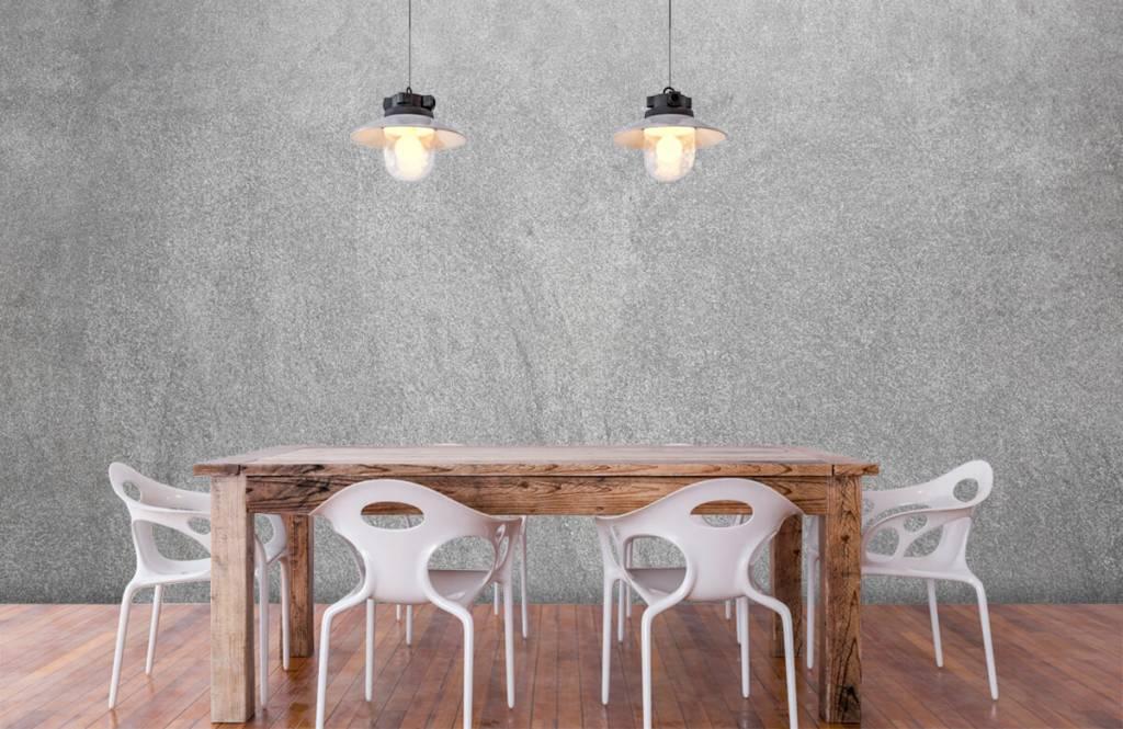 Concrete look tapet Mörkslipad betong 6