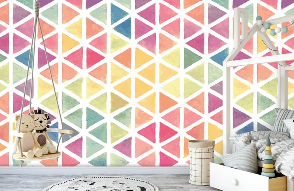 Övriga Trianglar med akvarelleffekt 5