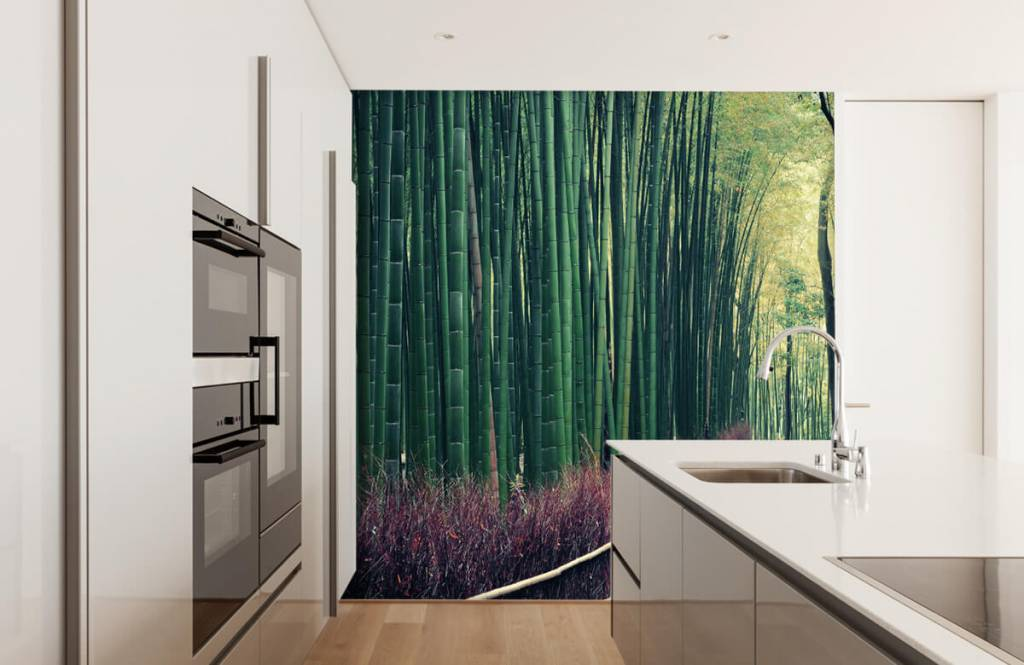 Skog tapet Bambuskog 3