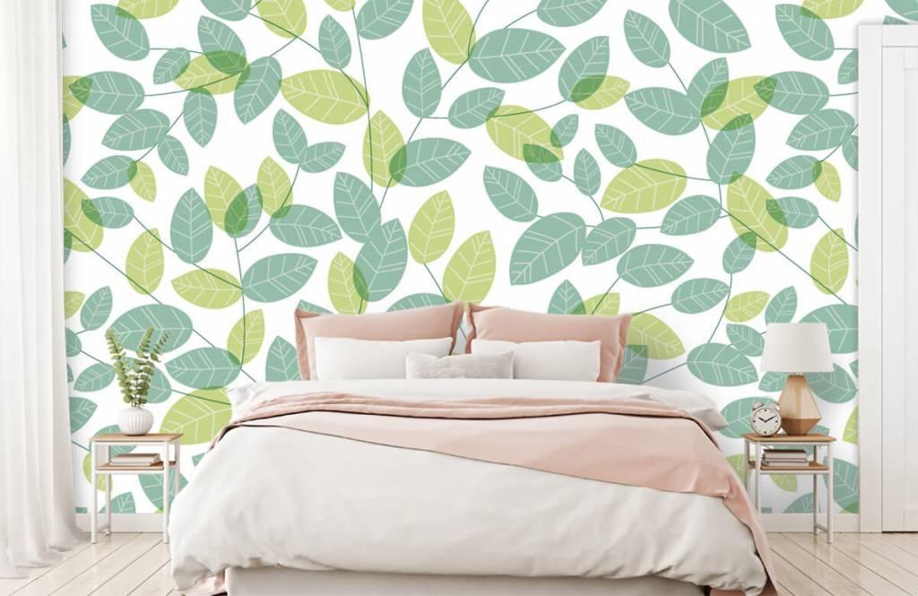 Löv Bläddra mönster 1