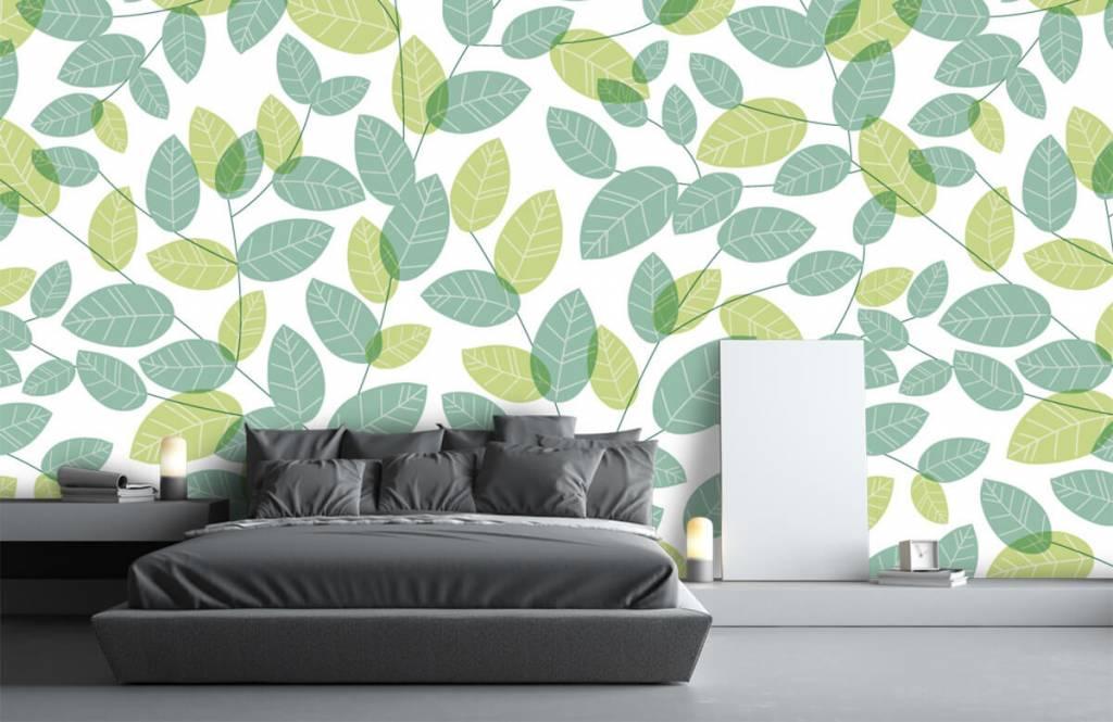 Löv Bläddra mönster 2