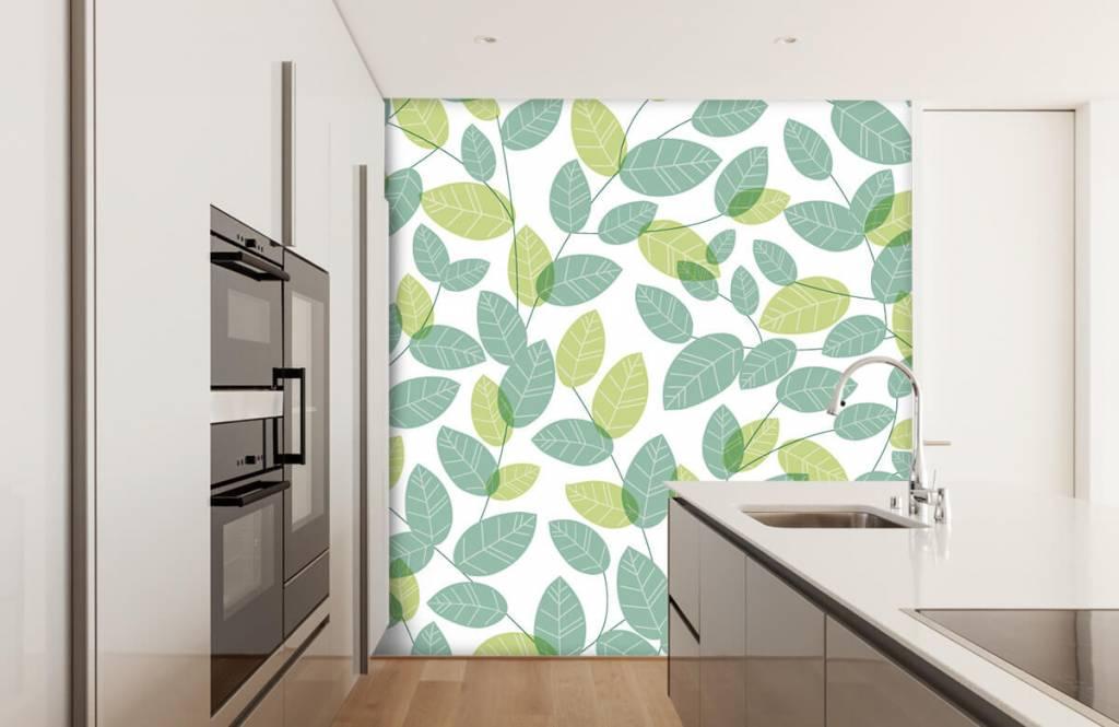 Löv Bläddra mönster 3
