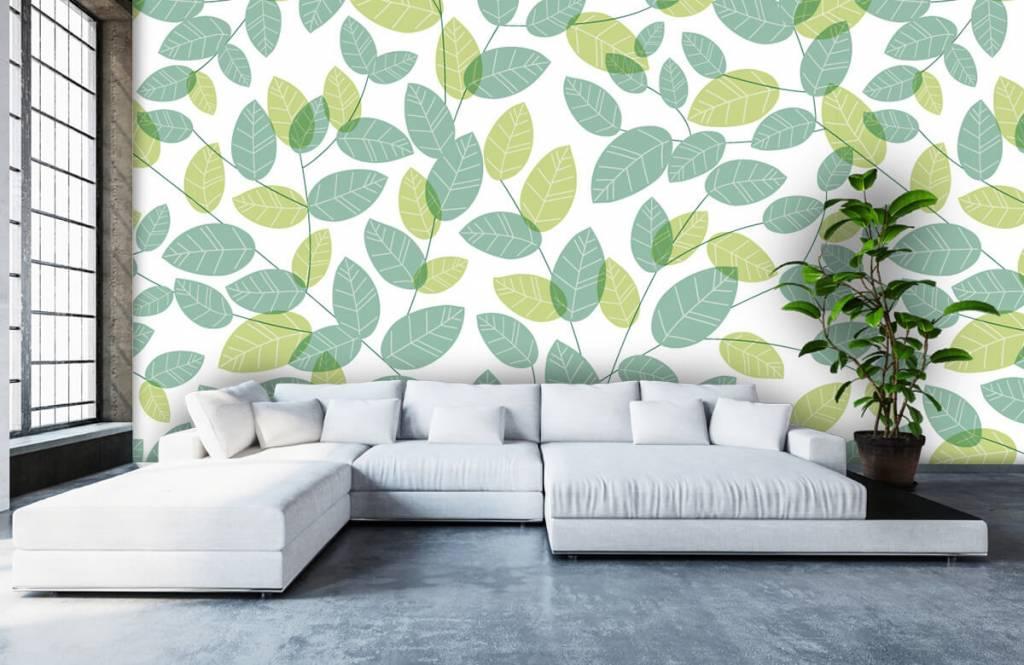 Löv Bläddra mönster 5