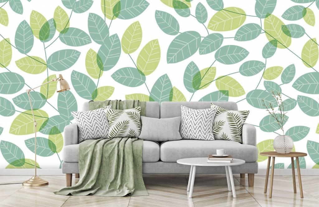 Löv Bläddra mönster 7