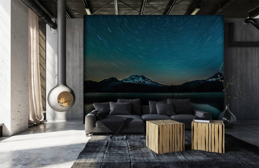 Norrsken Mörk stjärnhimmel 6