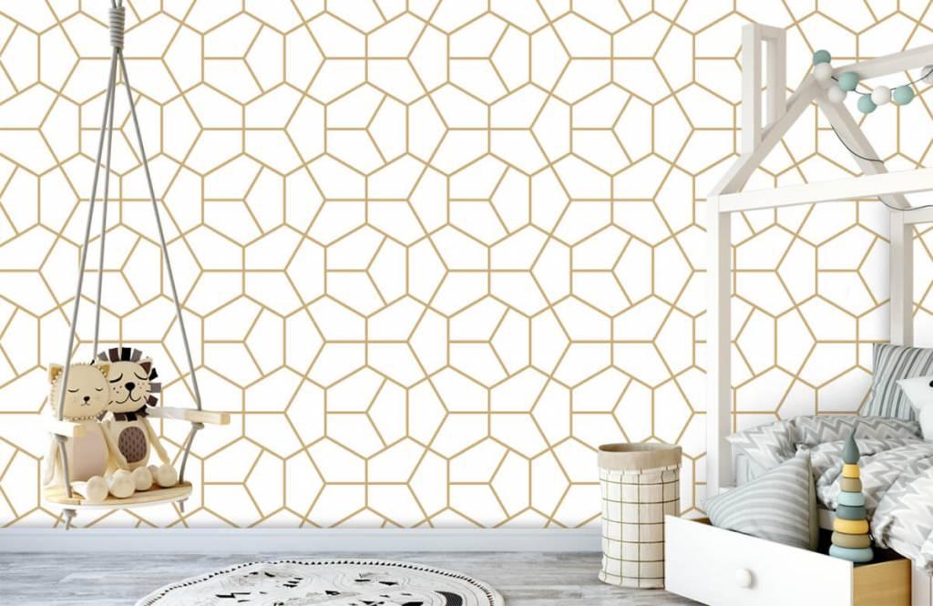 Övriga Guld geometriska mönster 3