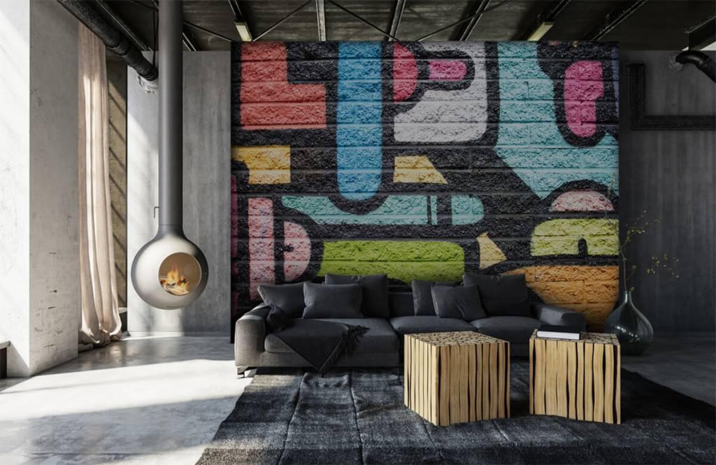 Graffiti Graffiti vägg 1